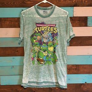 Burnout TMNT Ringer T Shirt